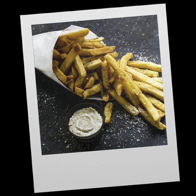 Le Cornet de frites fraîches